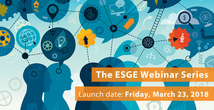The ESGE Webinar series