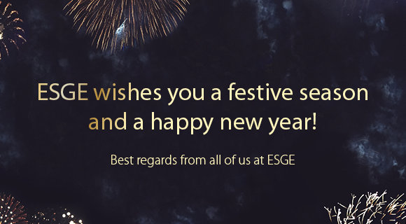 ESGE wishes you a Happy New Year