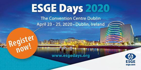 ESGE Days 2020 registration now open