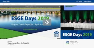ESGE Days 2019 live cases, lectures and abstracts