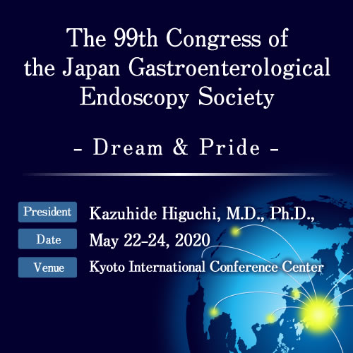 The 99th Congress of the Japan Gastroenterological Endoscopy Society (JGES)