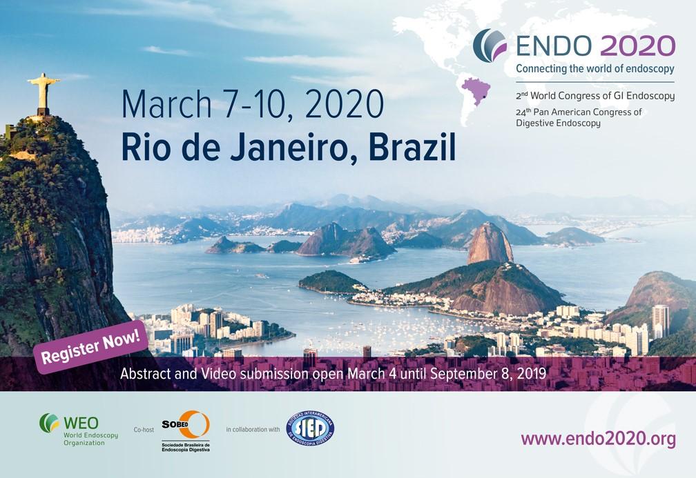 ENDO 2020, 2nd World Congress of GI Endoscopy – European