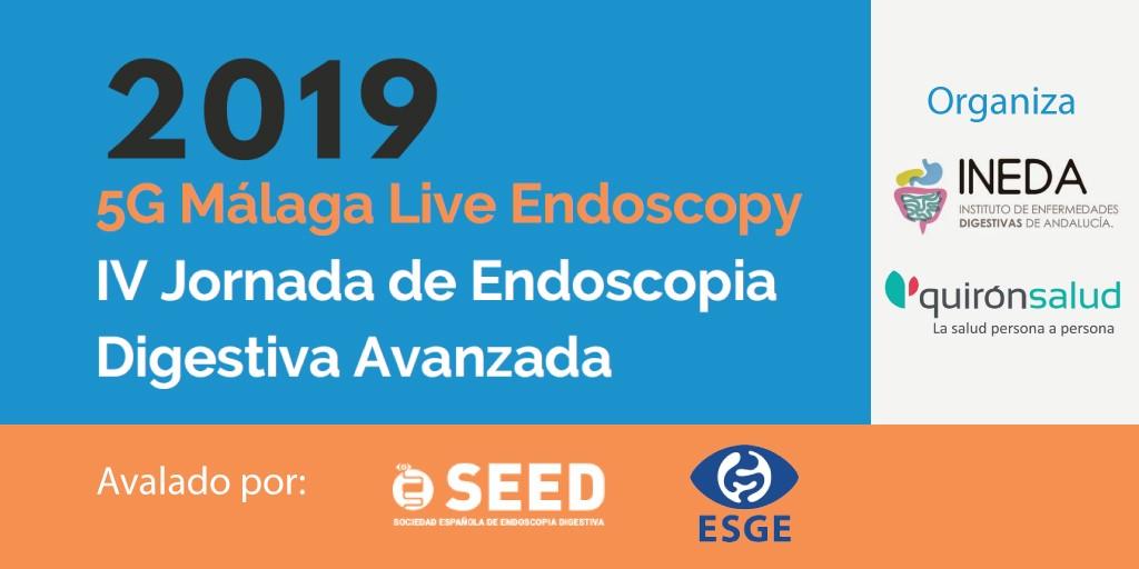 5g Málaga live endoscopy