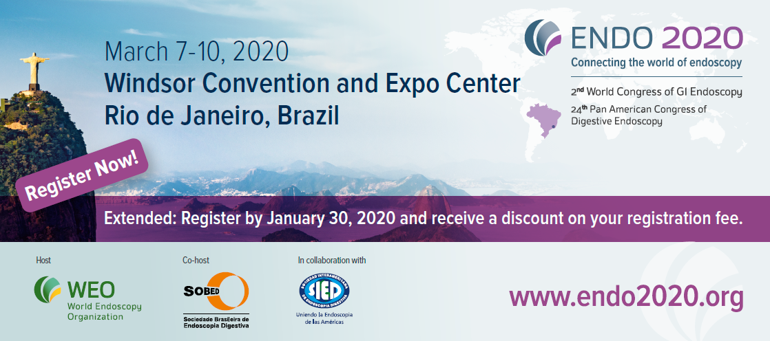 ENDO 2020, 2nd World Congress of GI Endoscopy