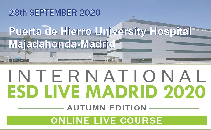 International ESD Live Madrid 2020 - Autumn Edition - Online Live Course