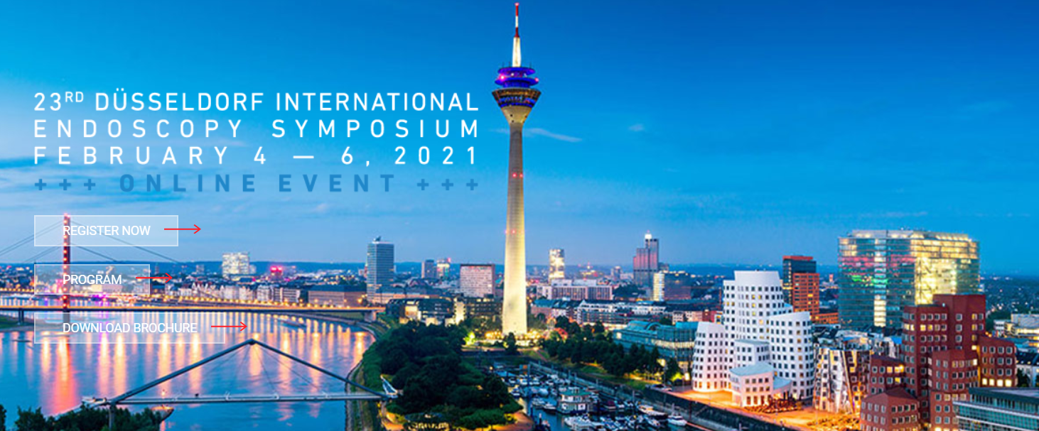 23rd Düsseldorf International Endoscopy Symposium - Online Event