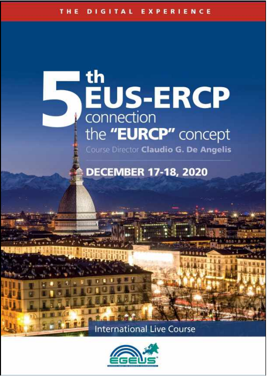 "5th EUS-ERCP connection: the ""EURCP"" concept- The Digital Experience"