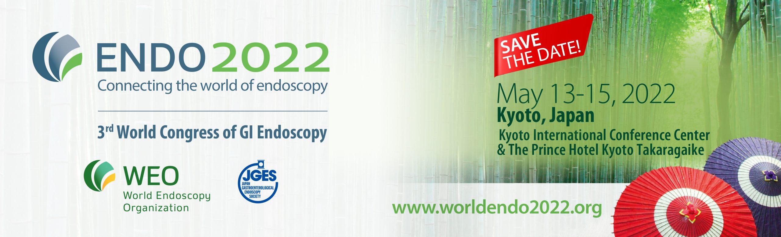 ENDO 2022, 3rd World Congress of GI Endoscopy