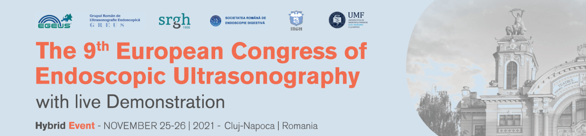 The 9th European Congress of Endoscopic Ultrasonography